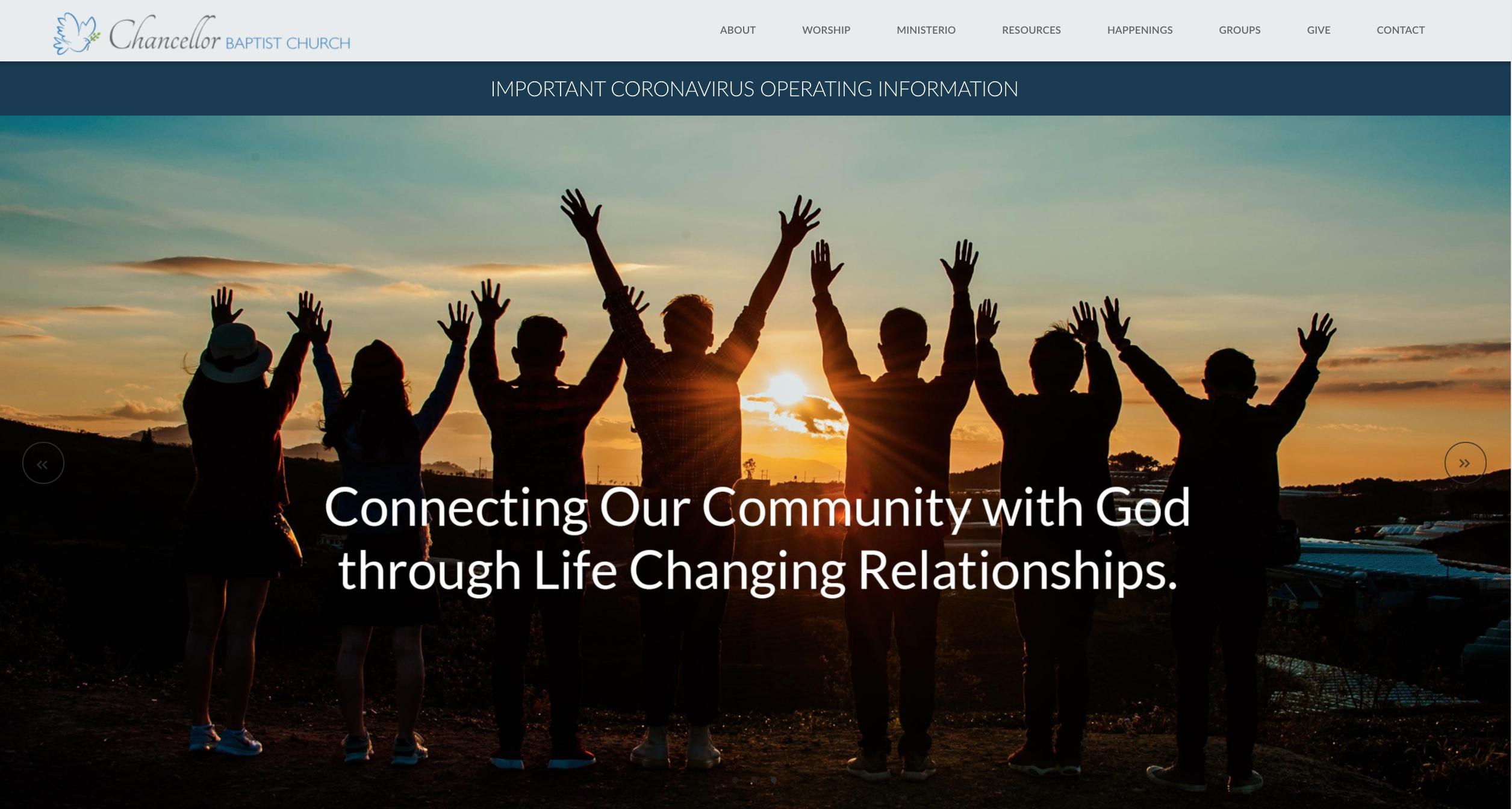 Chancellor Baptist Church Website