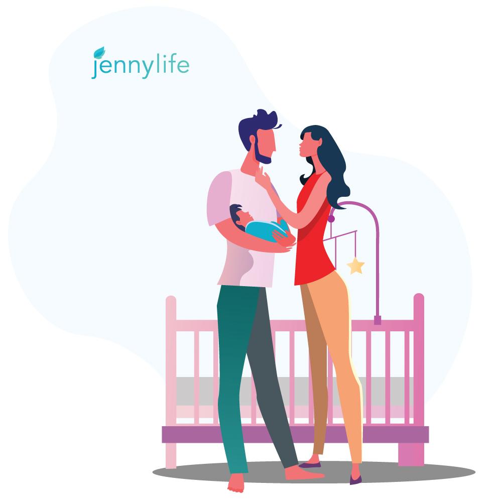 Logo, Print, & Digital Work for JennyLife
